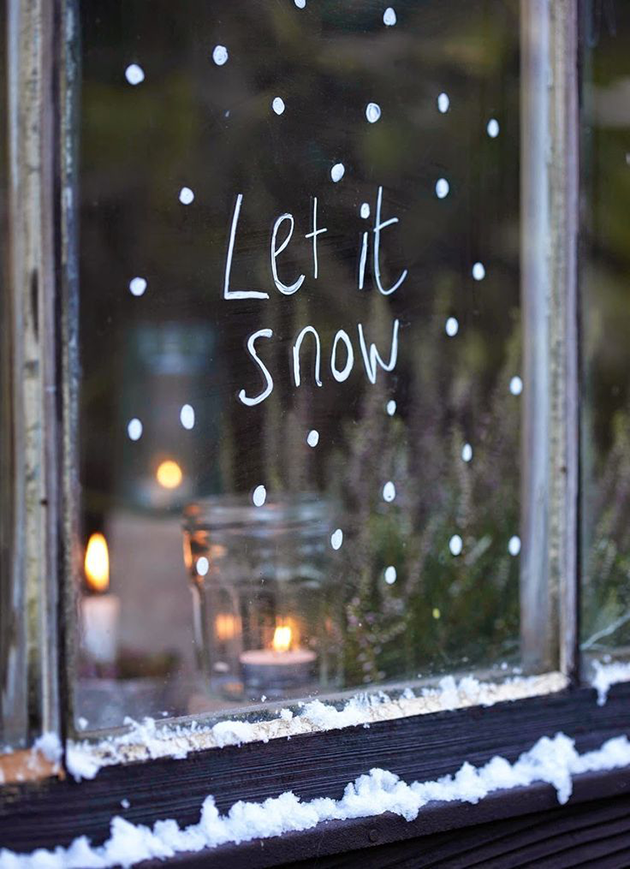 homey app let it snow stress winter