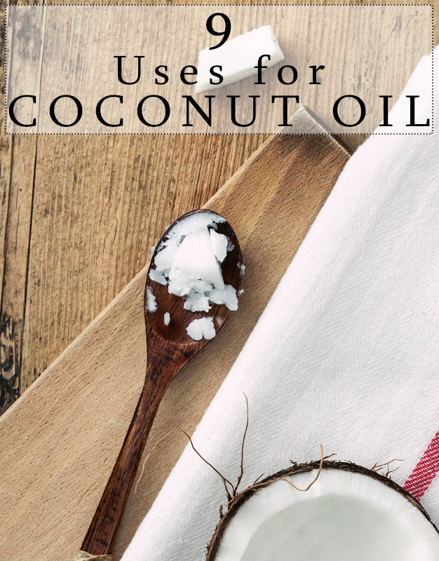 9 Uses for Coconut Oil