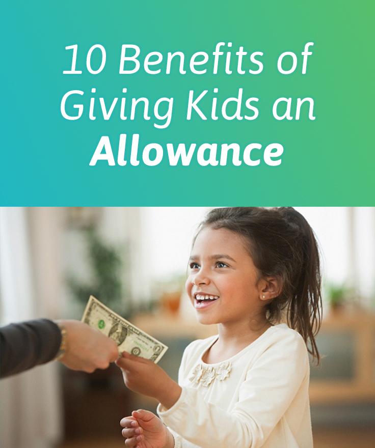 Children S Allowances In A New Form Debit Cards Linked To: 10 Benefits Of Giving Kids An Allowance