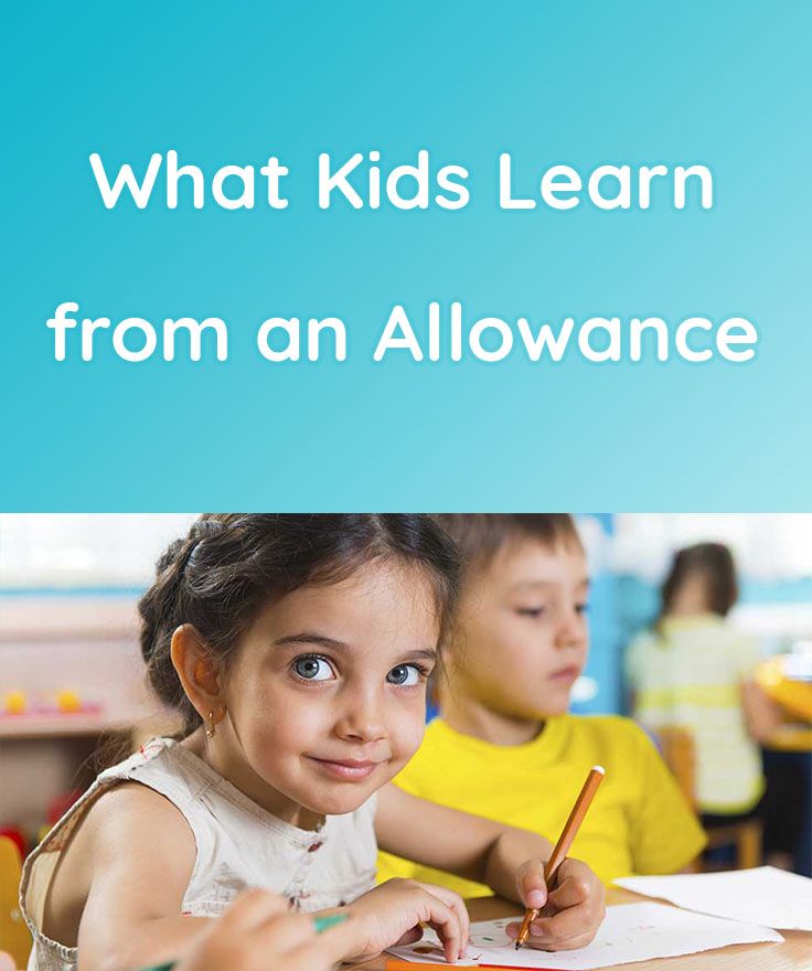 What kids learn from an allowance
